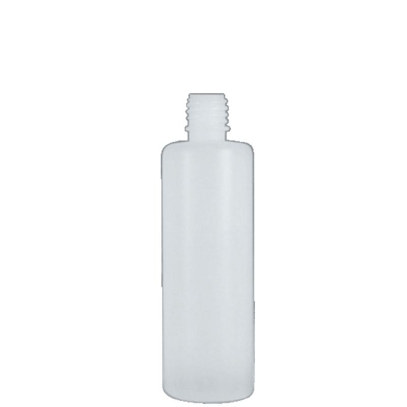 Flacone circolare 100 ml HDPE, collo 18 mm, linea VILNIUS