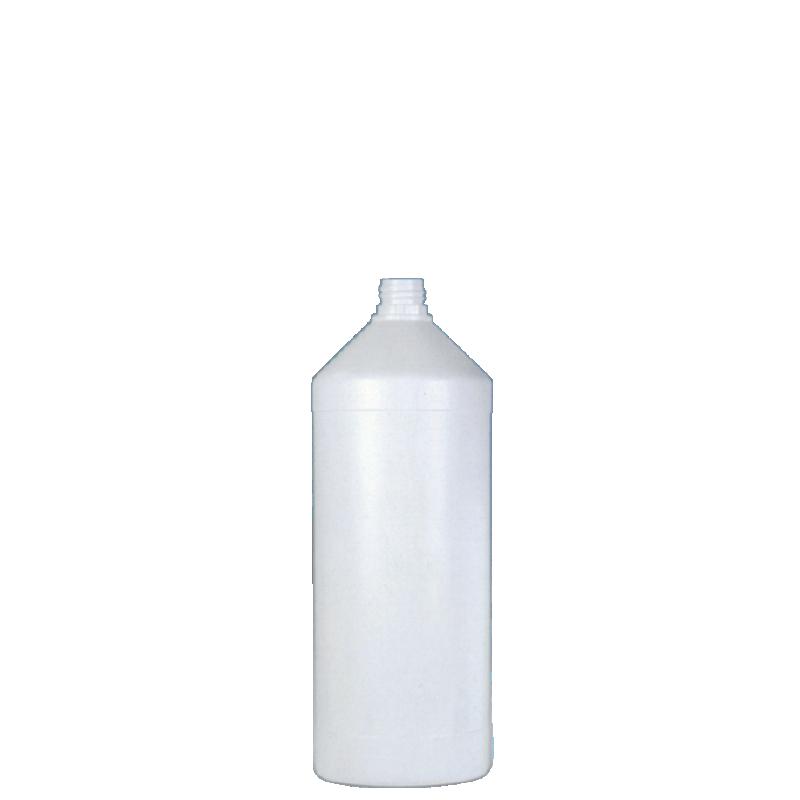 Flacone cilindrico 1 lt HDPE, collo 22TE, linea ANTIGUA