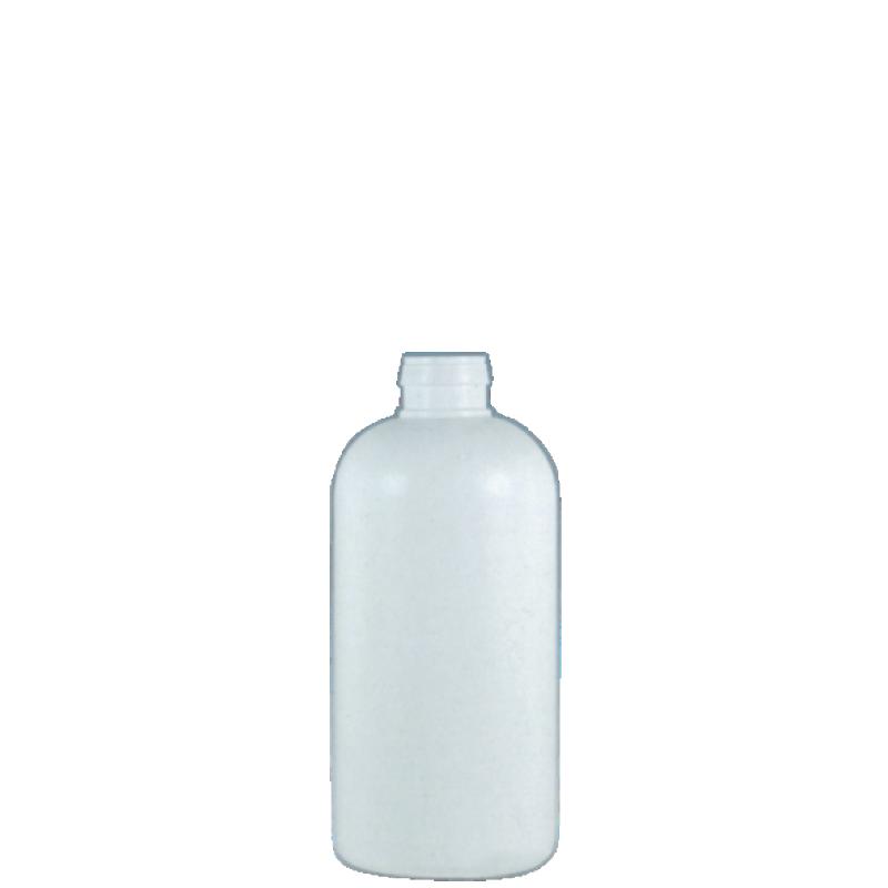 Flacone cilindrico per colla vinilica 100 ml HDPE, collo snap-on, linea NAIROBI