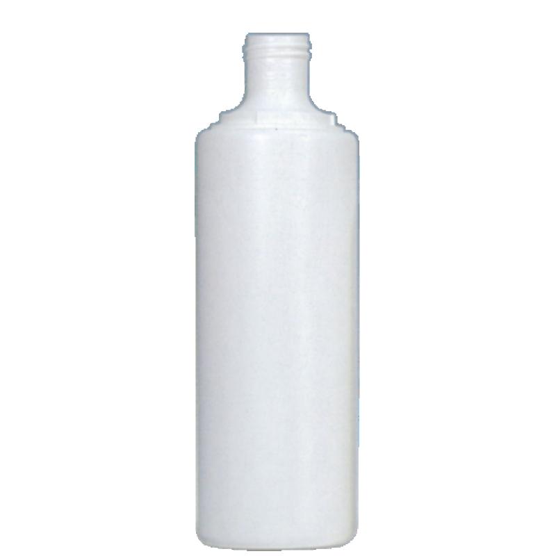 Round bottle 250 ml HDPE, neck 22 mm, style BERNA