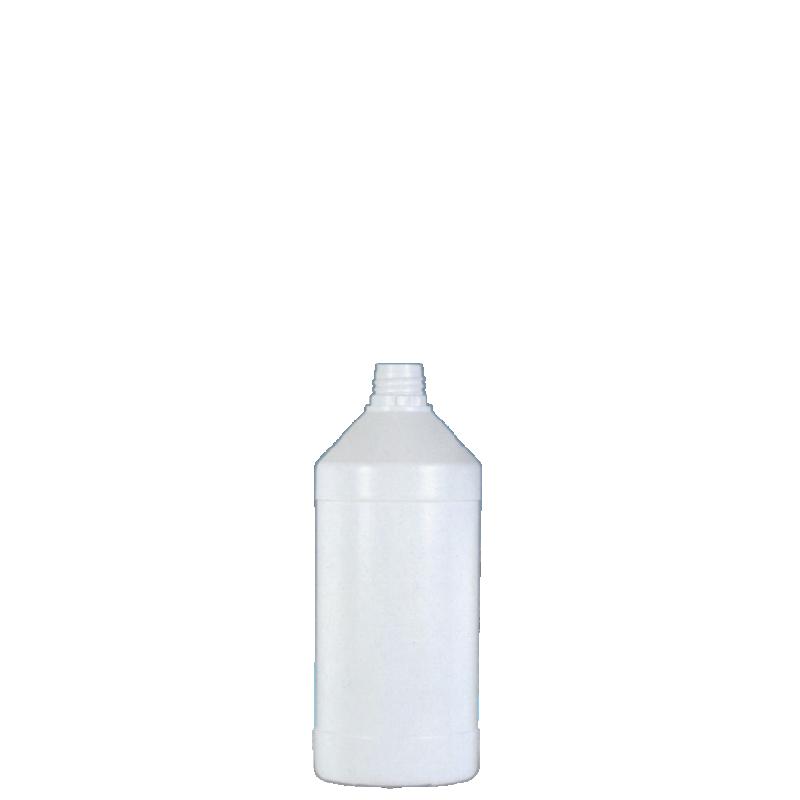 Cylindrical bottle 250 ml HDPE, neck 22TE, style ANTIGUA