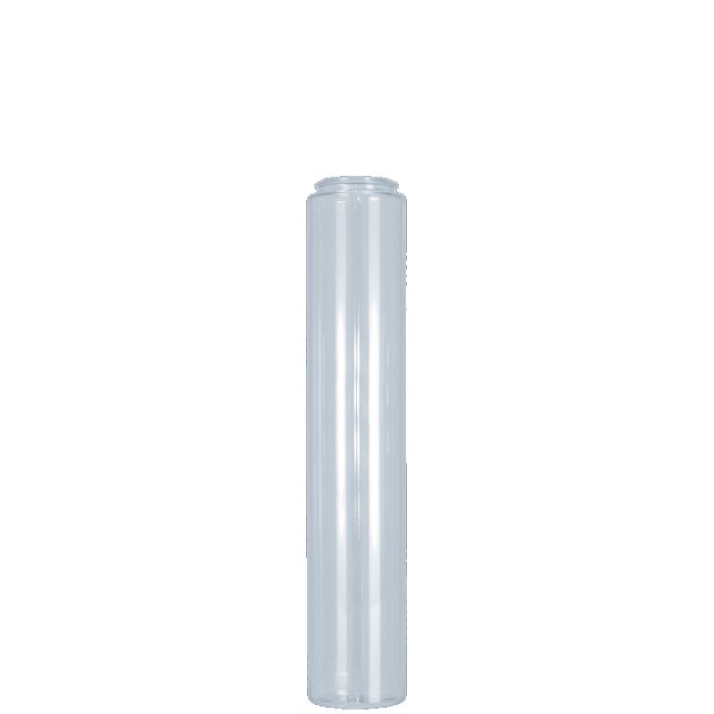Flacone cilindrico 150 ml PETG, collo snap-on, linea ATENE (Reale)