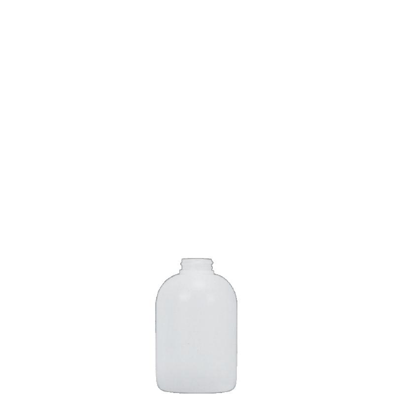 Flacone circolare spalla raggiata 300 ml HDPE, collo 28/400, linea TALLIN
