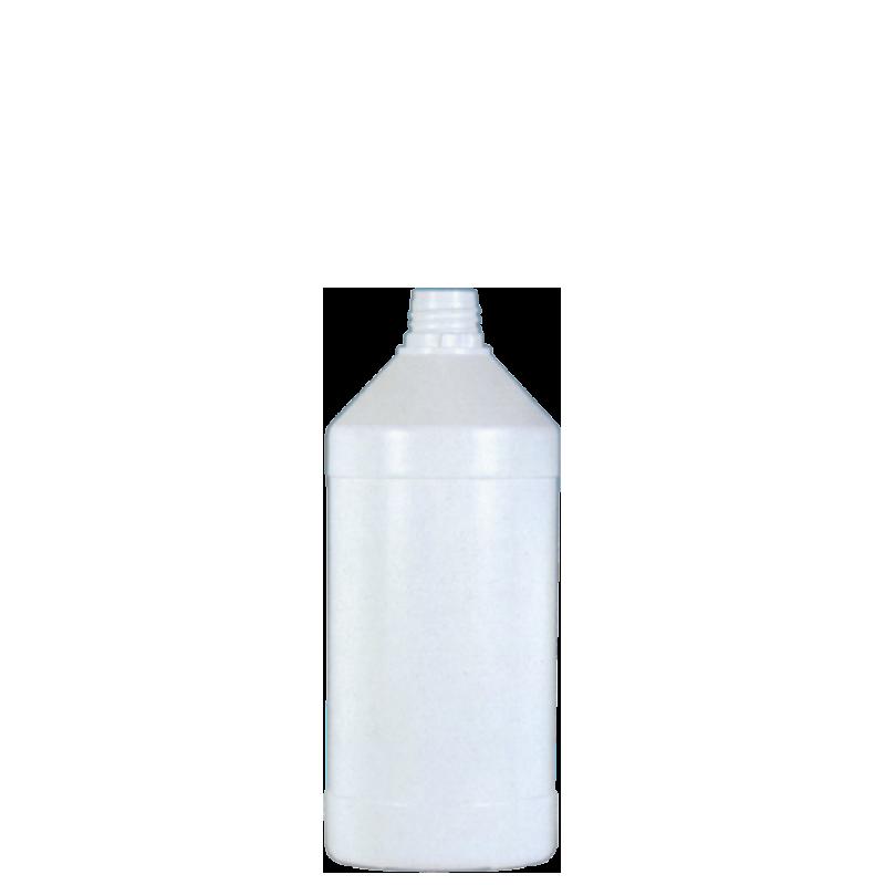 Cylindrical bottle 500 ml HDPE, neck 22TE, style ANTIGUA