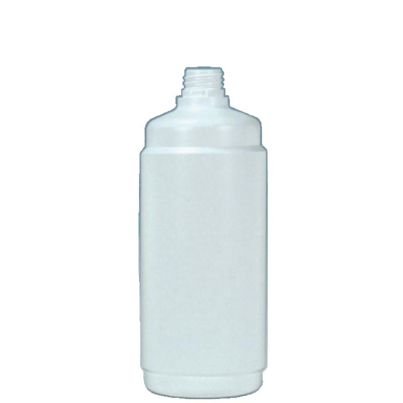 Round bottle 500 ml HDPE, neck 24 mm, style BERNA