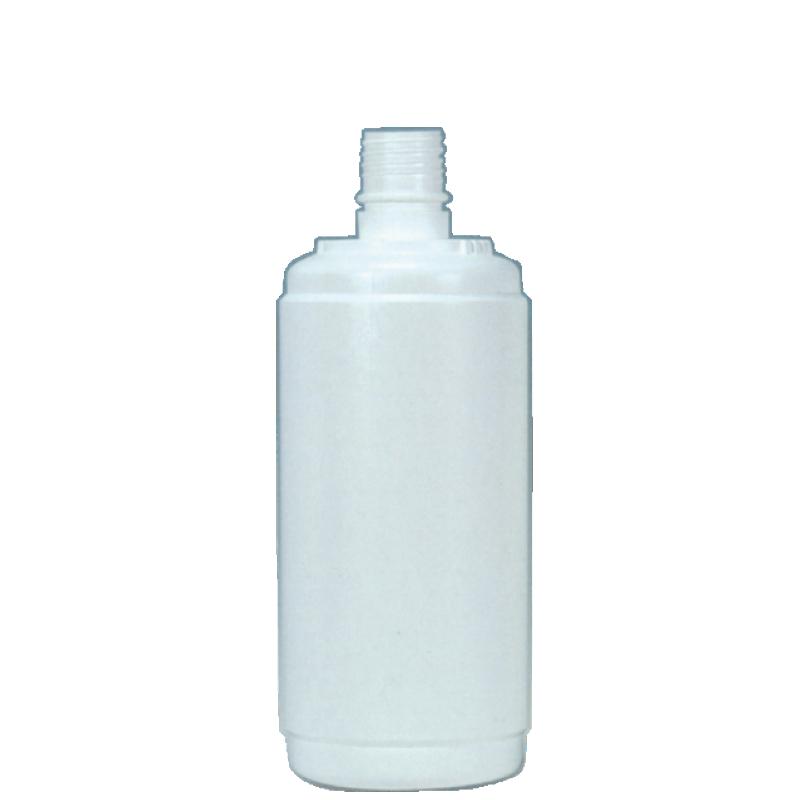 Round bottle 500 ml HDPE, neck 22 mm, style BERNA