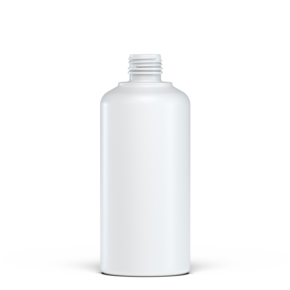 Round bottle for syrup 500 ml HDPE, neck 28 mm, style BERNA