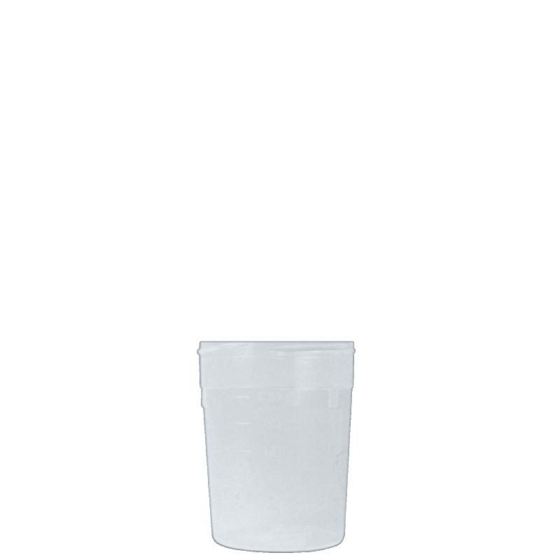 Flacone contenitore urine 100 ml PP, collo 56 mm, linea BASILEA