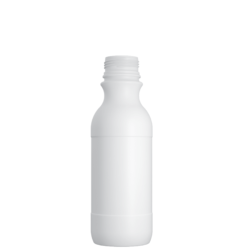 Cylindrical bottle 500 ml COEX-PP, neck 38 mm, style MILOS