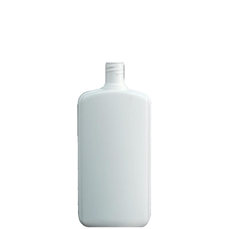Moulded bottle 250ml HDPE/PP, neck 20mm, style PARIGI
