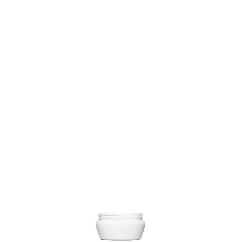 Conical-truncated jar 150 ml HDPE, neck 80mm, linea TALLIN