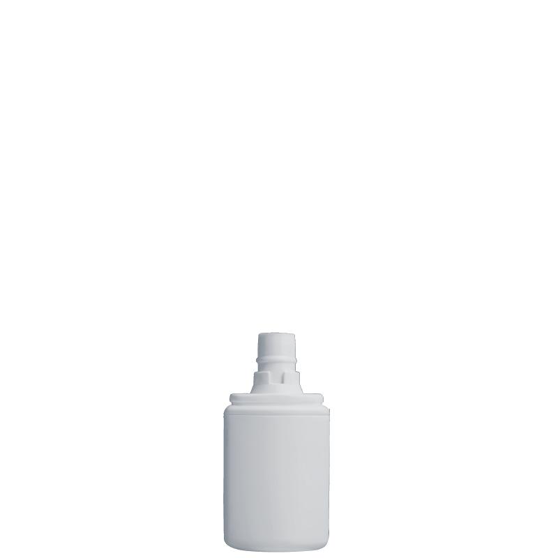 Flacone rettangolare 40 ml HDPE/PP, collo snap-on, linea FRANCOFORTE (Reale)