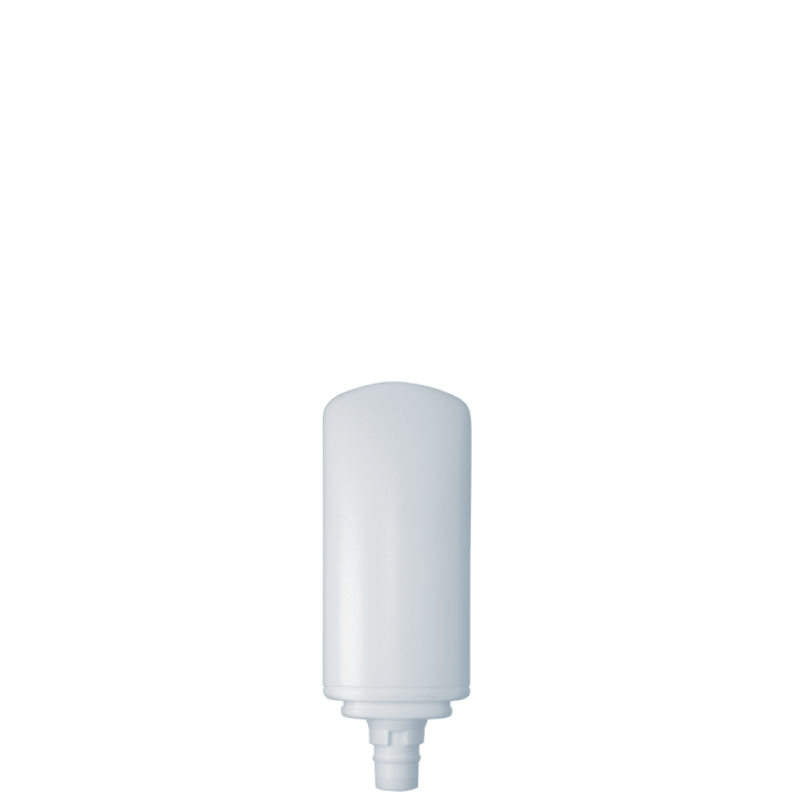 Tottle 50 ml HDPE/PP, neck snap-on, style FRANCOFORTE