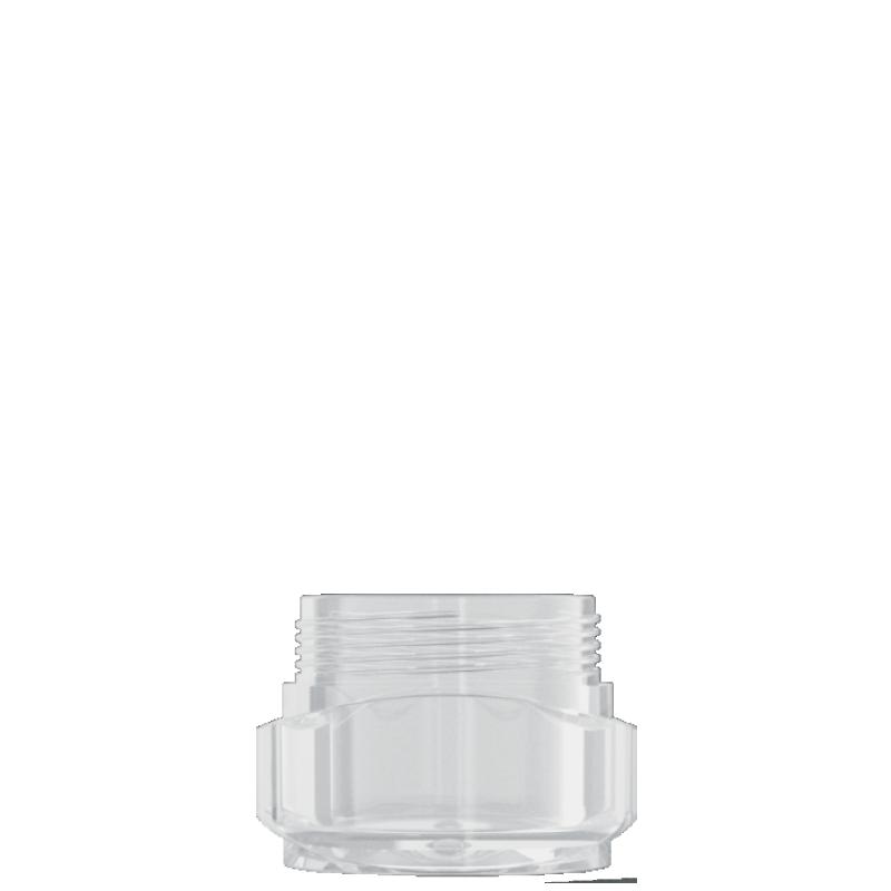 Vaso circolare 30ml PMMA, collo 53mm, linea PARIGI