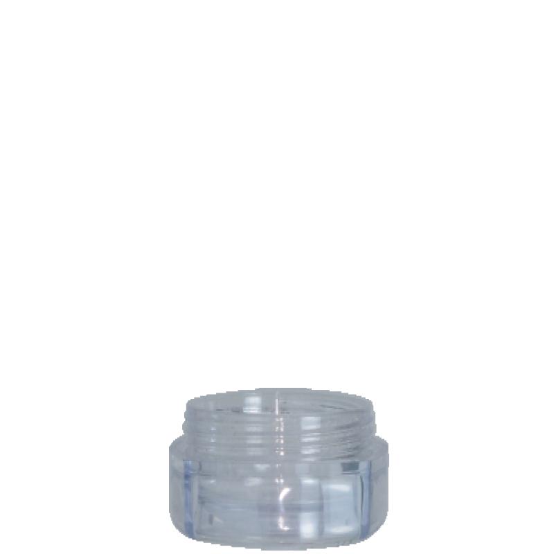 Vaso circolare 30ml PMMA, collo 43mm, linea PARIGI