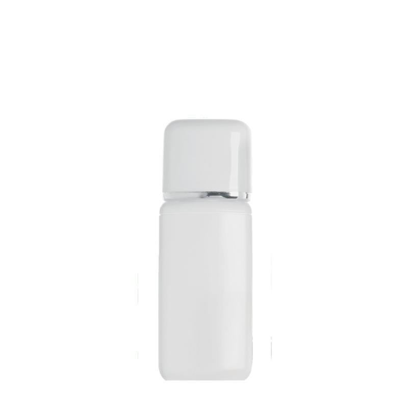 Rectangular bottle 50 ml HDPE/PP, neck 20 mm, style TOKYO