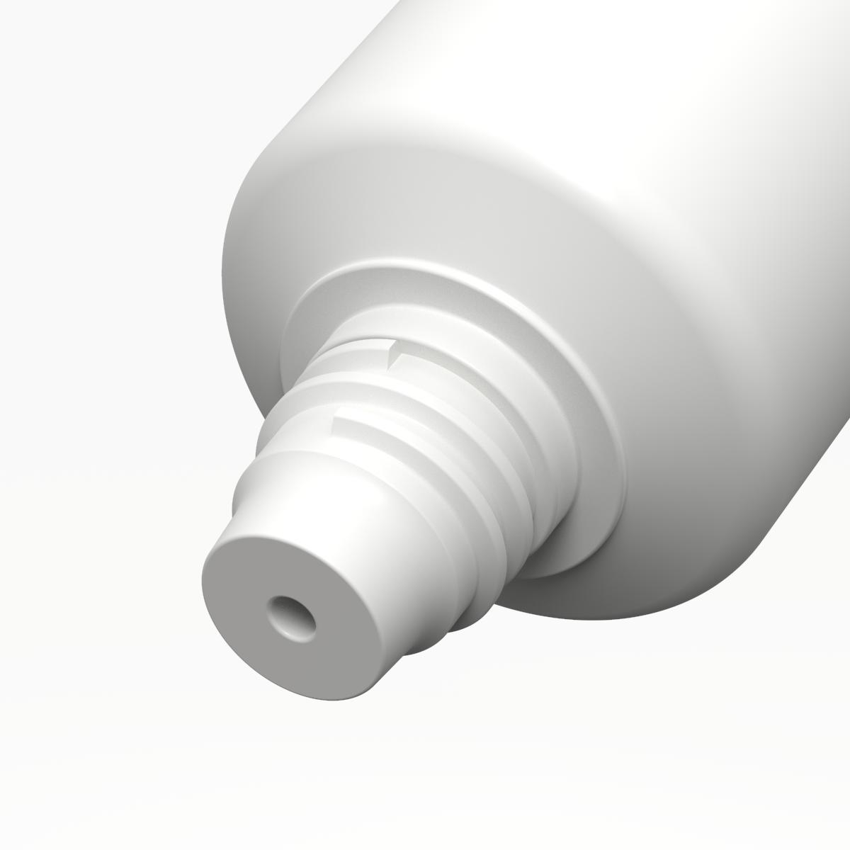 Tubo cilindrico ø35 PE, bocchello COSMETICO