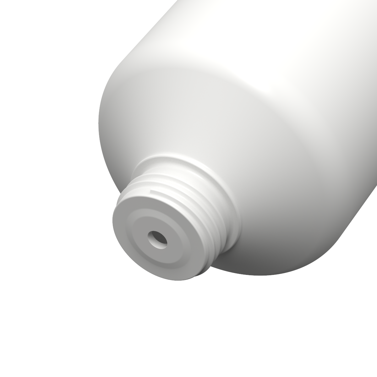 Tubo cilindrico ø40 PE, bocchello M15