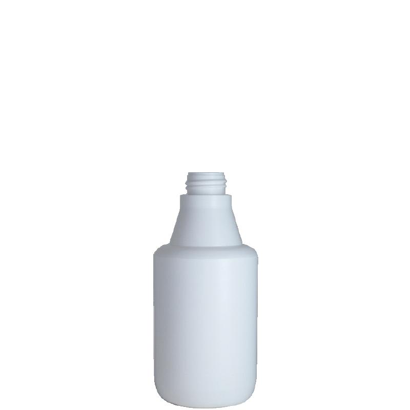 Cylindrical container 250 ml HDPE, neck DIN25, style ZANZIBAR