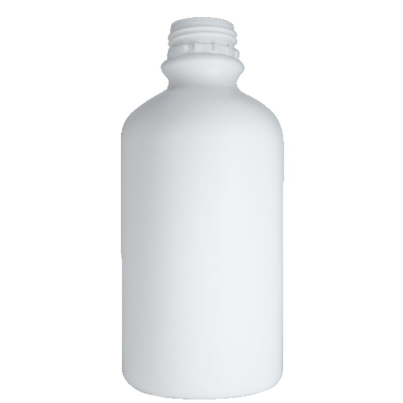 Cylindrical bottle 2 lt HDPE, neck DIN50TE, style ZANZIBAR