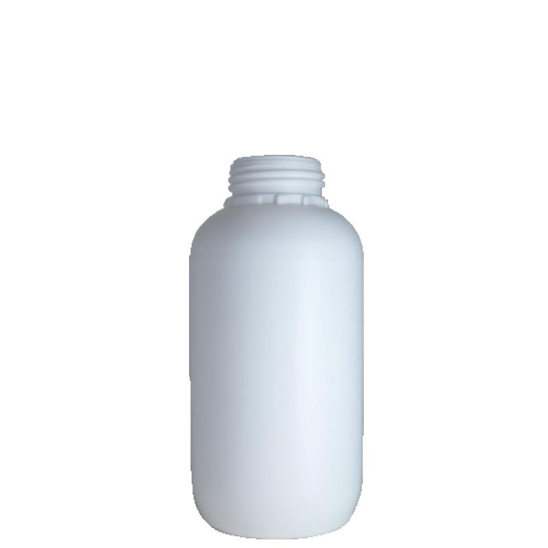 Cylindrical bottle 750 ml HDPE, neck DIN50TI, style ZANZIBAR