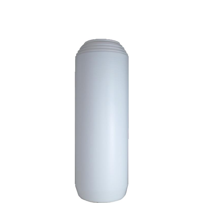 Powder bottle 1 lt HDPE, neck 45mm, style GOA