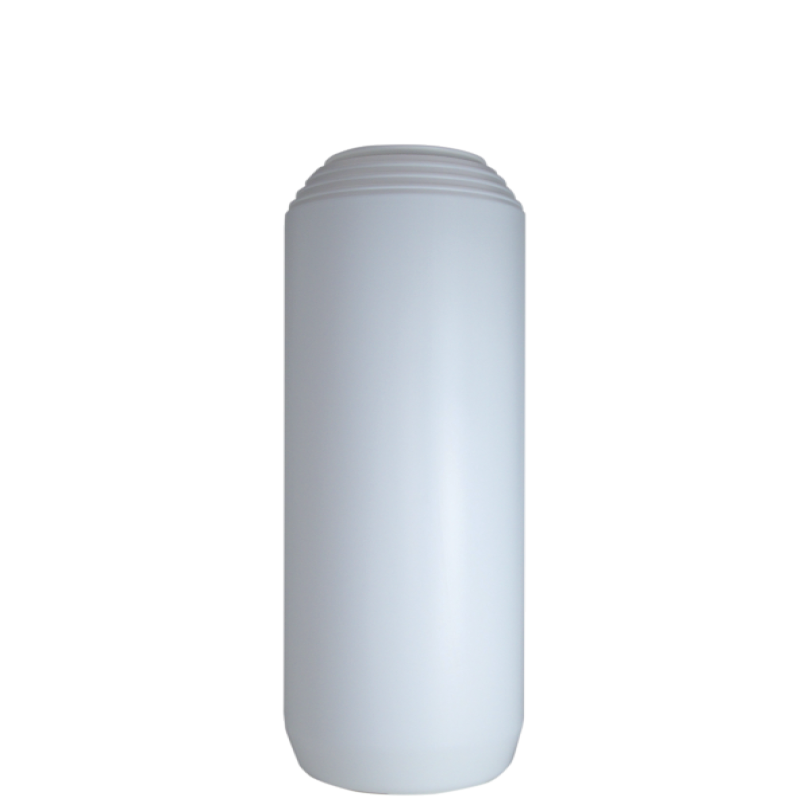 Powder bottle 1,5 lt HDPE, neck 45mm, style GOA