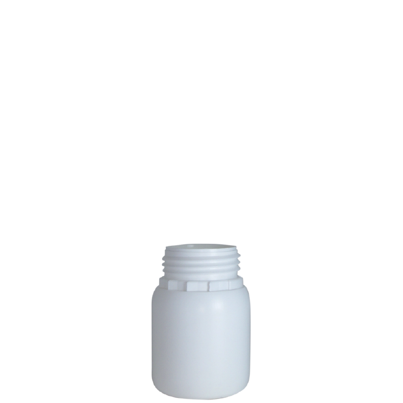 Cylindrical bottle 150 ml HDPE/COEX, neck DIN50TE, style ZANZIBAR