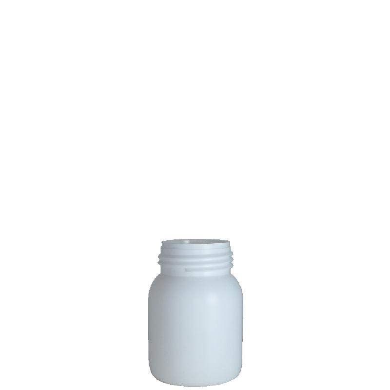 Cylindrical bottle 150 ml HDPE/COEX, neck DIN50TI, style ZANZIBAR