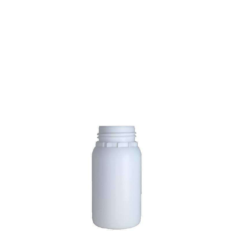 Cylindrical bottle 250 ml HDPE/COEX, neck DIN50TE, style ZANZIBAR
