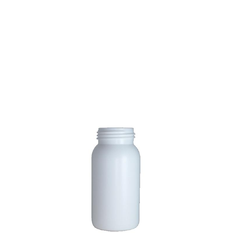 Cylindrical bottle 250 ml HDPE/COEX, neck DIN50TI, style ZANZIBAR