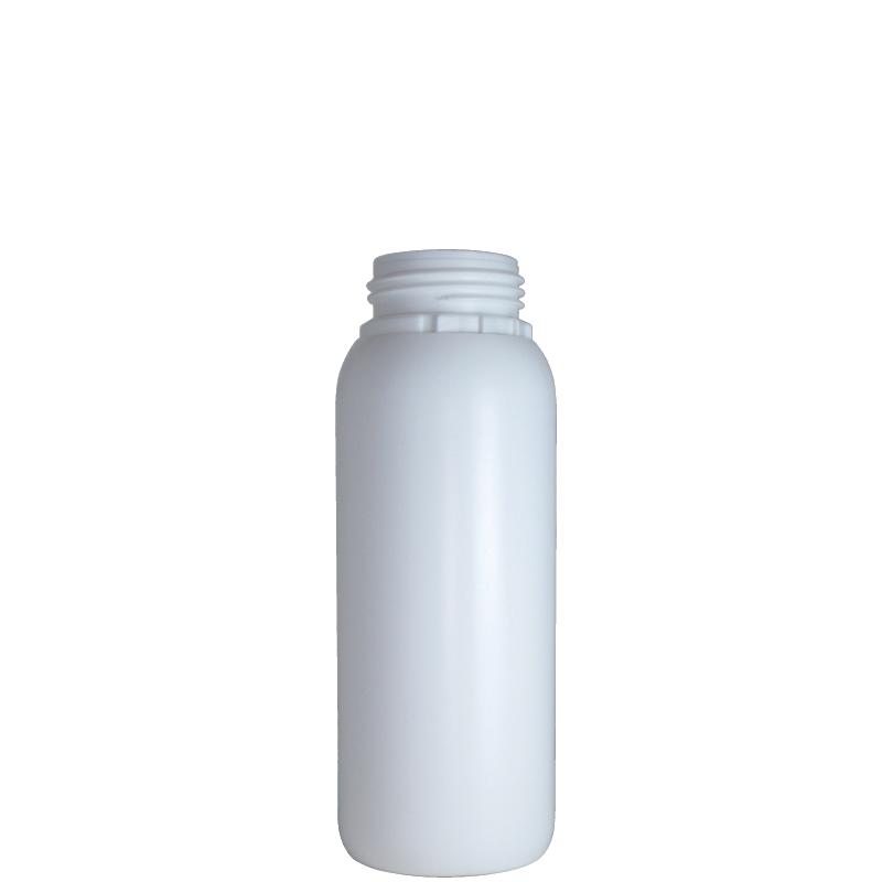 Cylindrical bottle 500 ml HDPE/COEX, neck DIN50TE, style ZANZIBAR