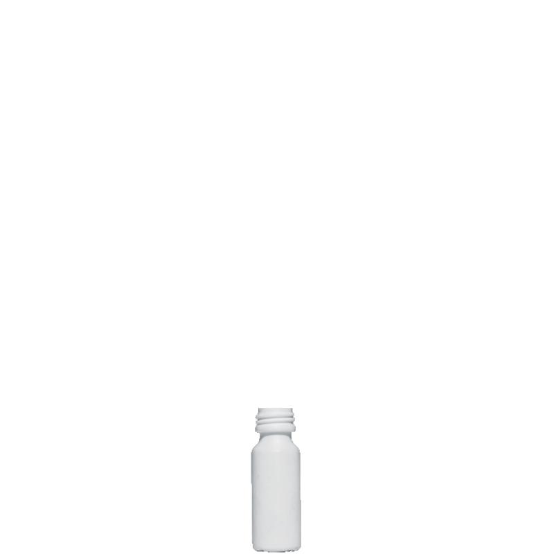 Cylindrical phial 20 ml HDPE, neck PFP18, style ZANZIBAR