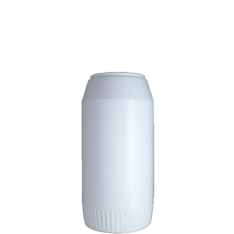Powder bottle 980 ml HDPE, neck 60mm, style GOA (Real)