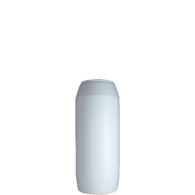 Powder bottle 300 ml HDPE, neck 45mm, style GOA