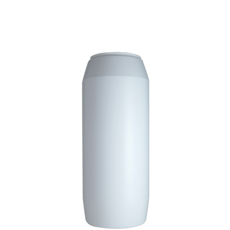 Powder bottle 1,2 lt HDPE, neck 60mm, style GOA (Real)