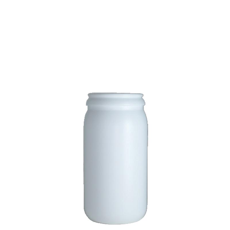 Contenitore cilindrico 250 ml HDPE, collo snap-on, linea AMIRANTES