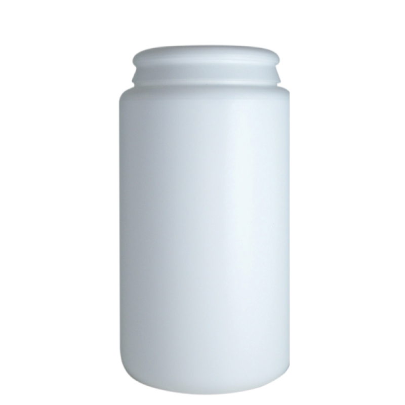 Contenitore cilindrico 1,45 lt HDPE, collo snap-on, linea AMIRANTES