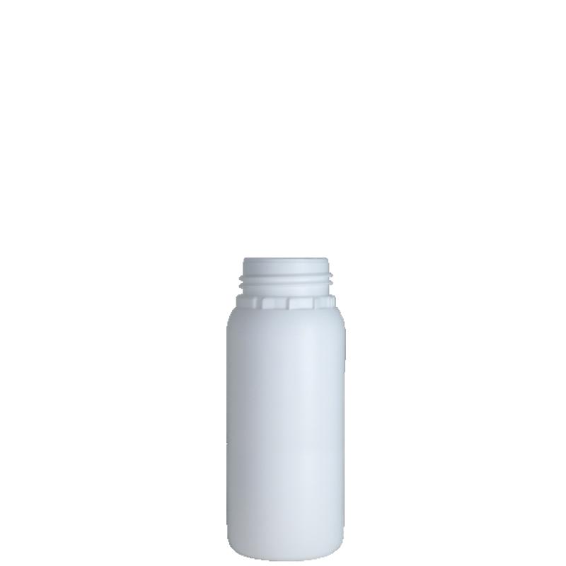 Cylindrical bottle 350 ml HDPE/COEX, neck DIN50TE, style ZANZIBAR