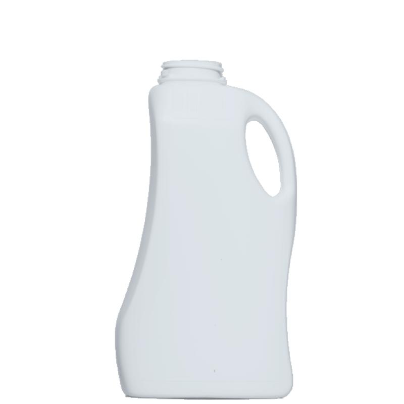 Moulded bottle 1 lt HDPE, neck 42mm, style FLOREANA