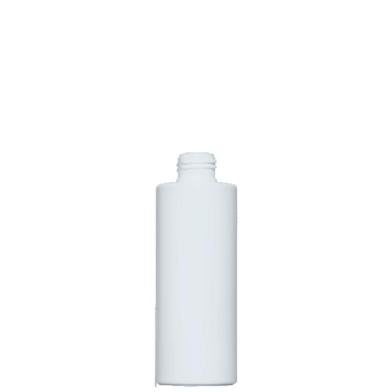 Flacone circolare 125 ml HDPE/PP, collo 24/410, linea NEW YORK