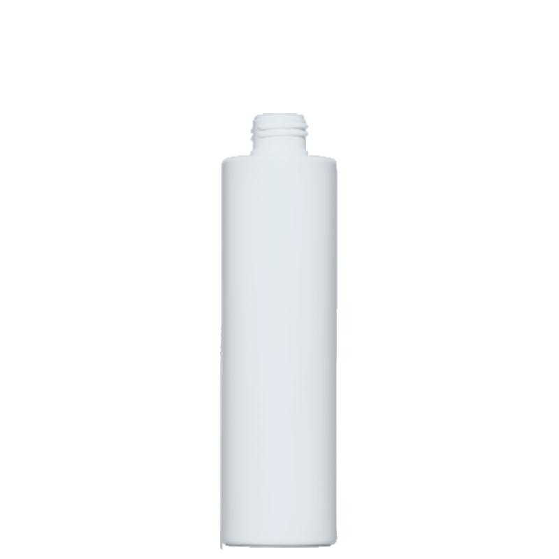 Flacone circolare 200 ml HDPE/PP, collo 24/410, linea NEW YORK