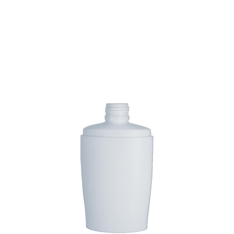 Flacone ovale 150 ml HDPE/PP, collo 24/410, linea IBIZA