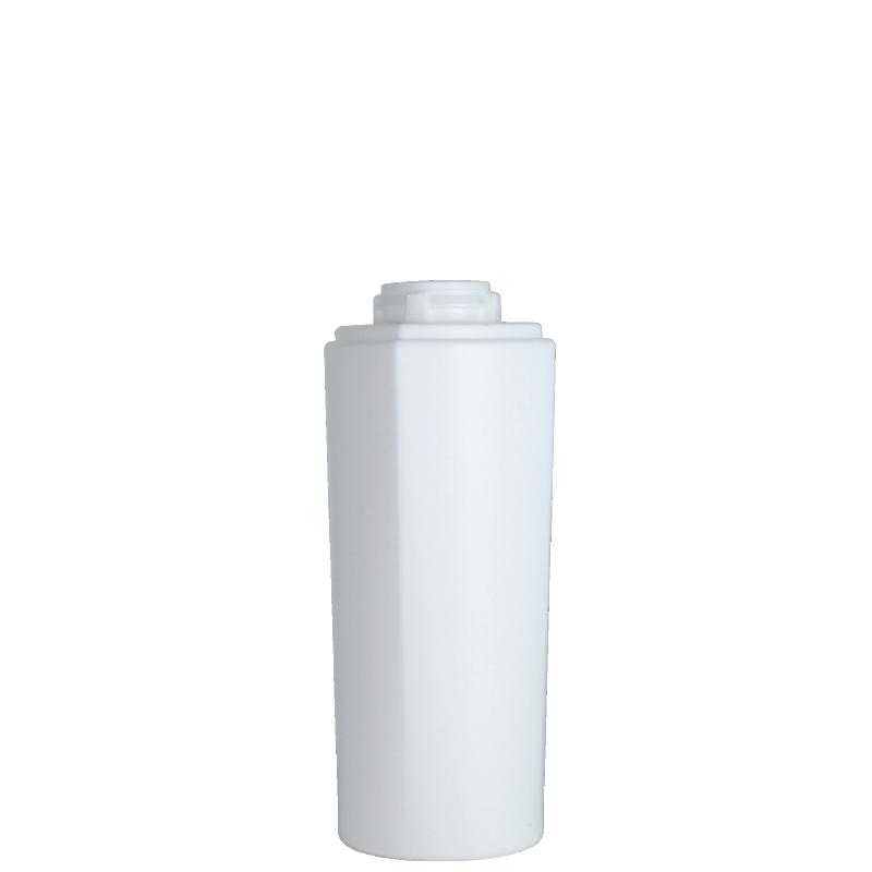 Flacone semi-cilindrico 150 ml HDPE/PP, collo-snap on, linea LOS ANGELES