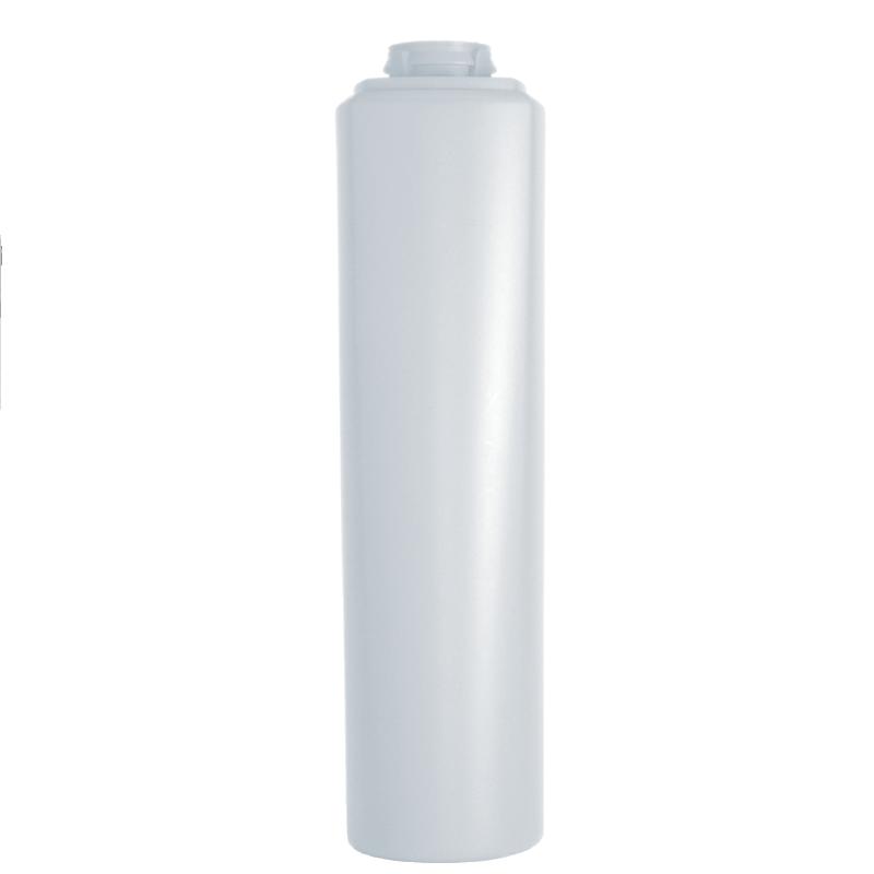 Flacone semi-cilindrico 250 ml HDPE/PP, collo snap-on, linea LOS ANGELES