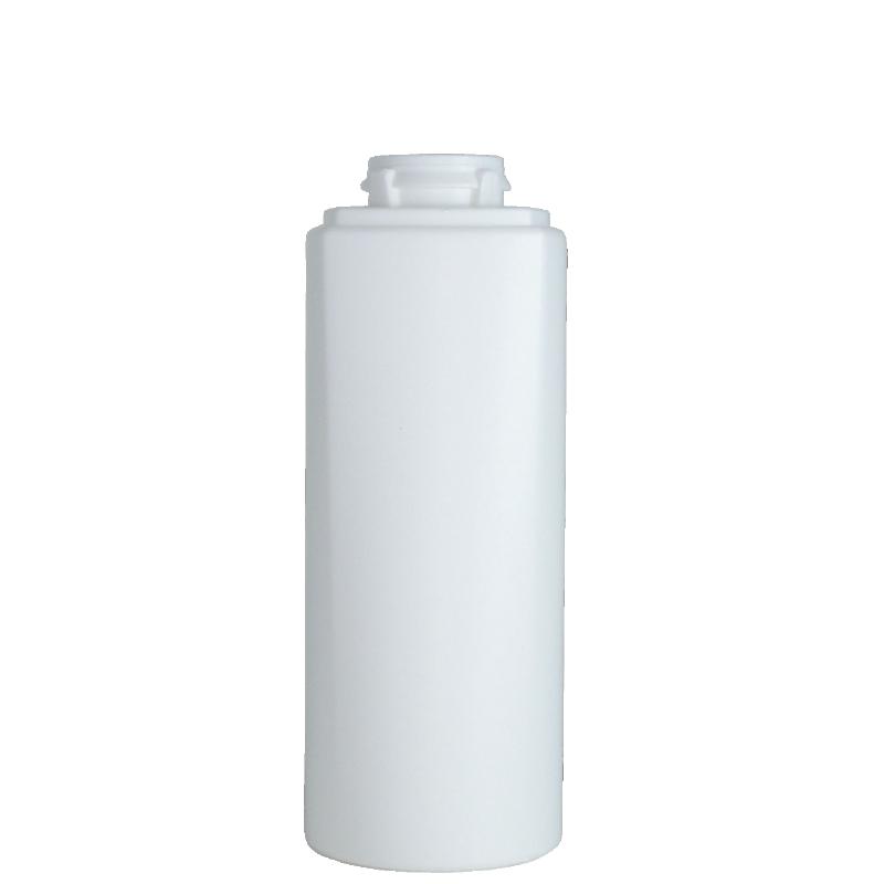 Flacone semi-cilindrico 200 ml HDPE/PP, collo snap-on, linea LOS ANGELES