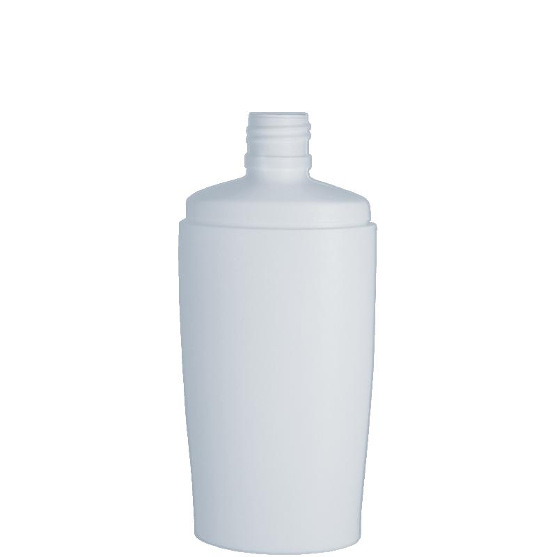 Flacone ovale 250 ml HDPE/PP, collo 24/410, linea IBIZA