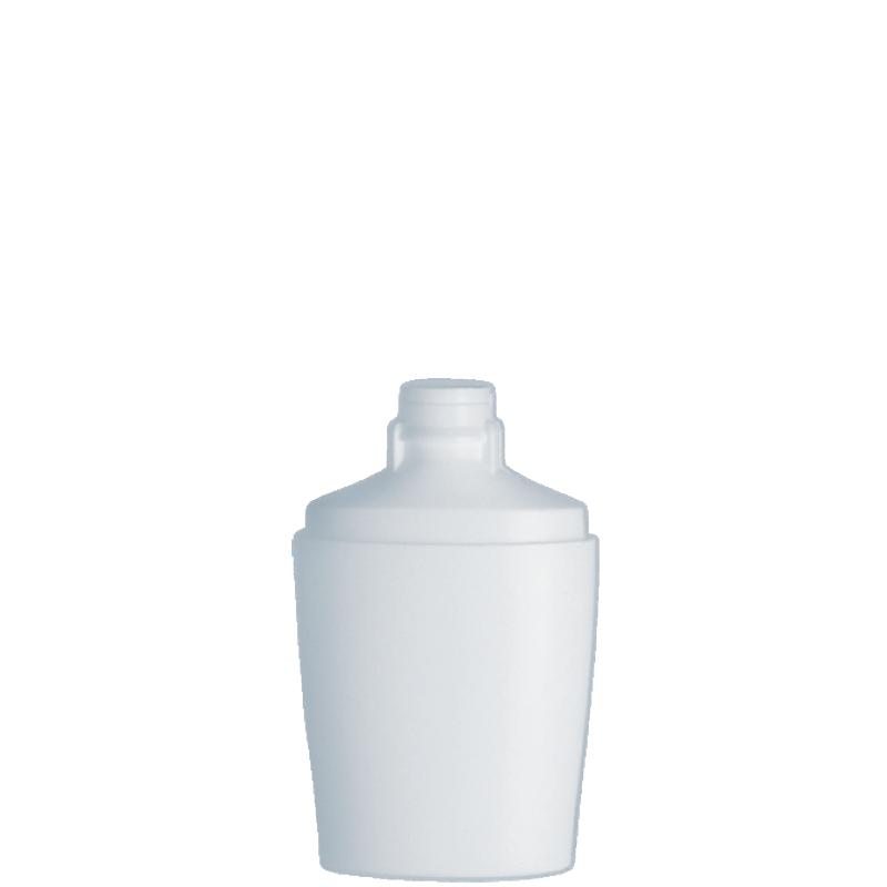 Flacone ovale 150 ml HDPE/PP, collo snap-on, linea IBIZA