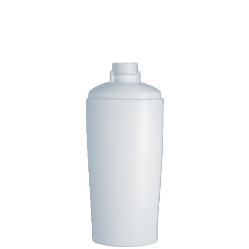 Flacone ovale 200 ml HDPE/PP, collo snap-on, linea IBIZA