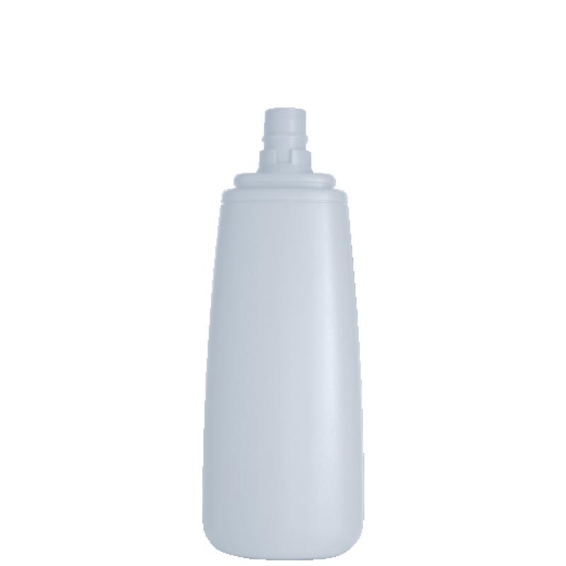 Flacone trapezoidale 150 ml HDPE/PP, collo snap-on, linea FRANCOFORTE